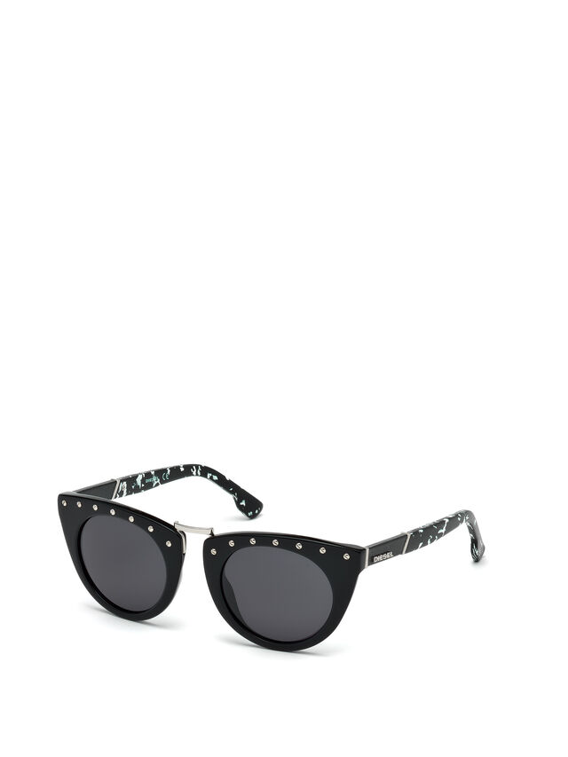 Diesel - DL0211, Black - Sunglasses - Image 4