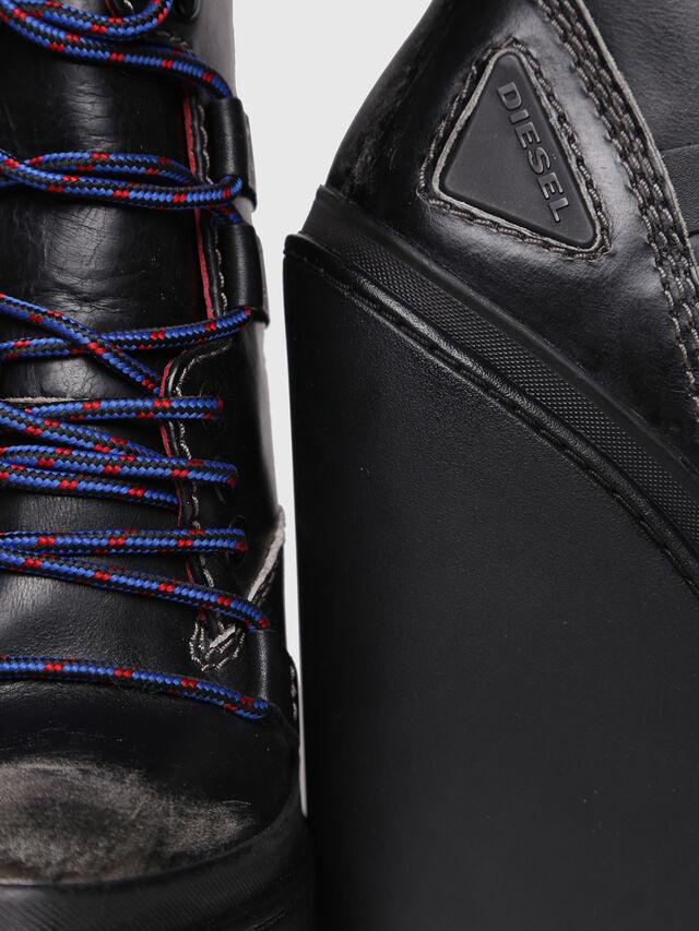 Diesel - D-VIBE MB, Black - Ankle Boots - Image 4