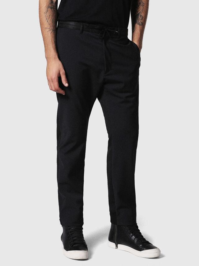 Diesel - P-HONNYER, Black - Pants - Image 3