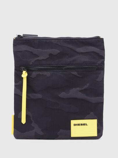 Diesel - F-DISCOVER CROSS, Black/Yellow - Crossbody Bags - Image 1