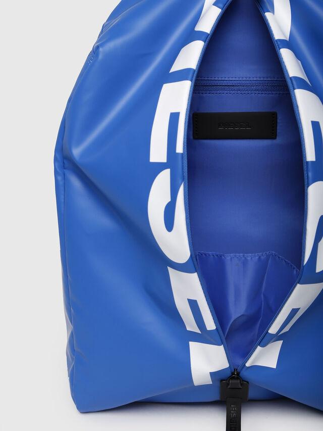 Diesel - F-BOLD BACK, Brilliant Blue - Backpacks - Image 4