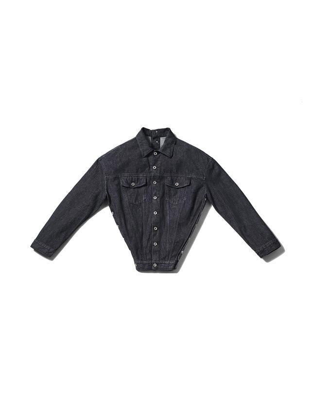 Diesel - GMJK02, Black Jeans - Jackets - Image 1