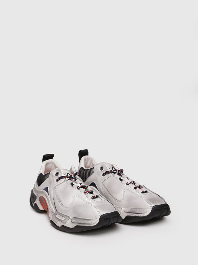 Diesel - S-KIPPER LC, White - Sneakers - Image 3