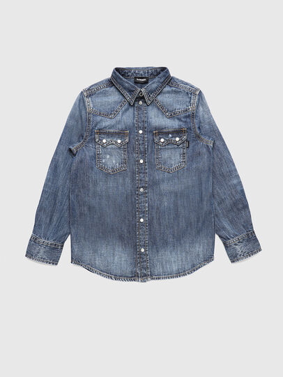 Diesel - CLEO, Medium blue - Shirts - Image 1