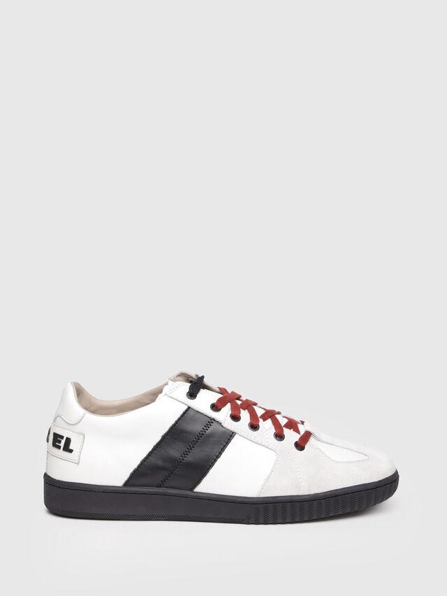 Diesel - S-MILLENIUM LC, White/Black - Sneakers - Image 1