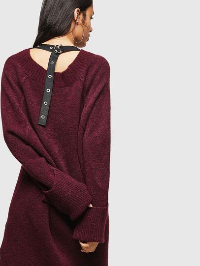 Diesel - M-NOELIA, Burgundy - Knitwear - Image 2