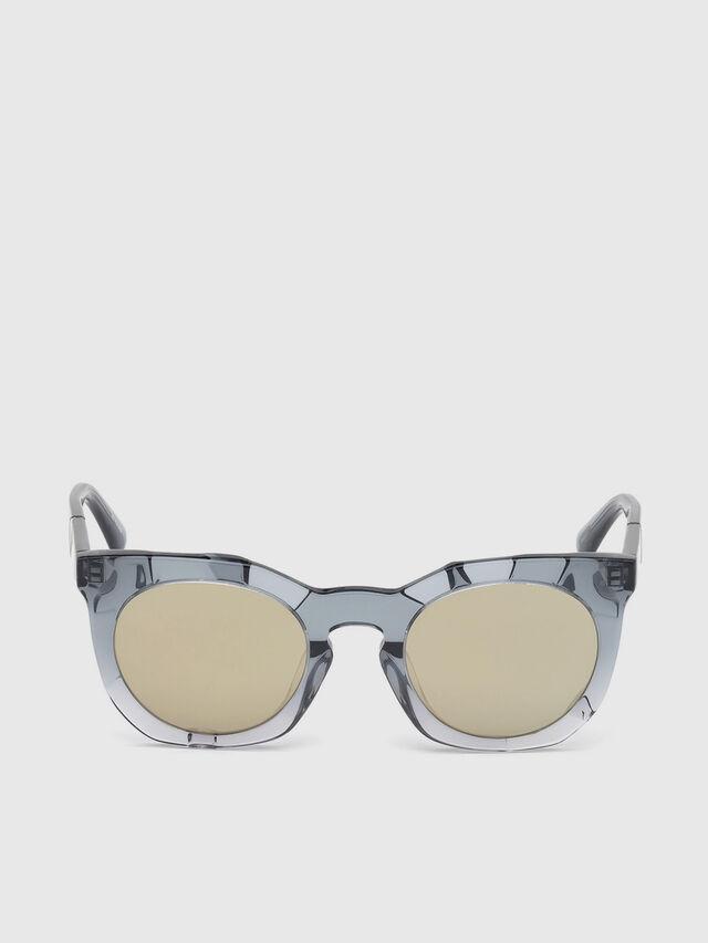 Diesel - DL0270, Grey - Eyewear - Image 1