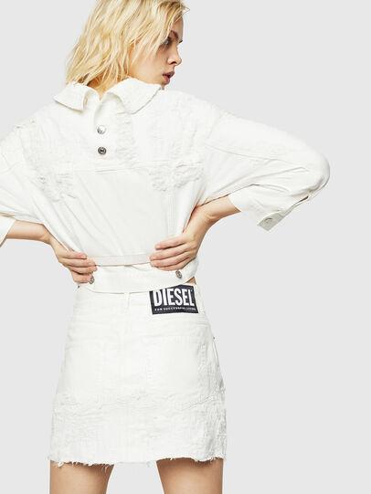 Diesel - DE-JODY, White - Skirts - Image 2