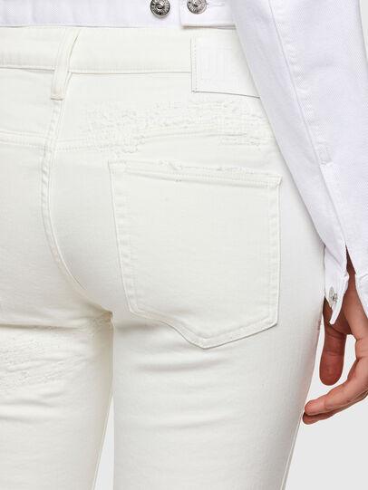 Diesel - D-Rifty 009VU, White - Jeans - Image 4