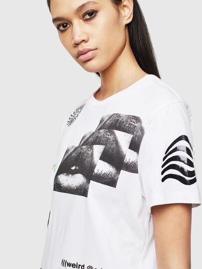 Diesel - T-DARIA-S1, White - T-Shirts - Image 3