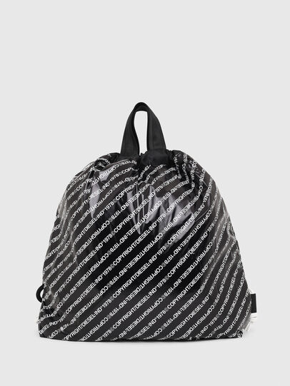 Diesel - COPYBACK, Black/White - Backpacks - Image 2