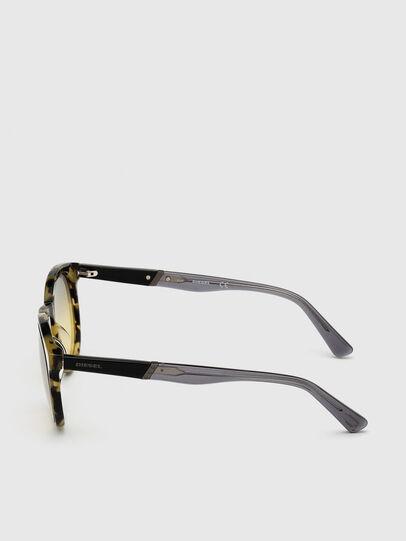 Diesel - DL0310, Black/Yellow - Sunglasses - Image 3