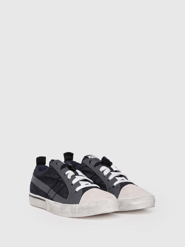 Diesel - D-VELOWS LOW LACE, Black/Grey - Sneakers - Image 3