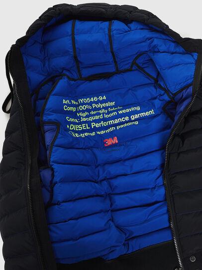 Diesel - W-OBLOSKY, Black - Winter Jackets - Image 6