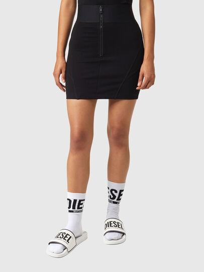 Diesel - O-SUBBY, Black - Skirts - Image 1