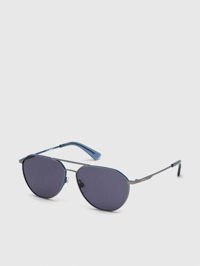 Diesel - DL0296, Azure - Sunglasses - Image 2