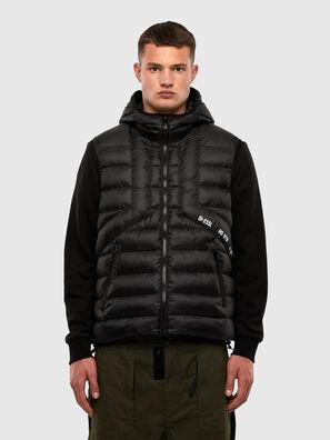 W-DWAIN-SL, Dark grey - Winter Jackets