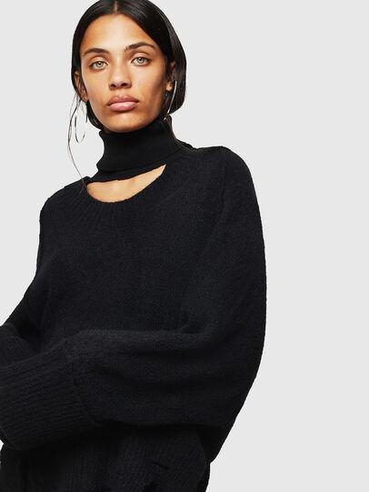 Diesel - M-MARIKAX, Black - Knitwear - Image 4