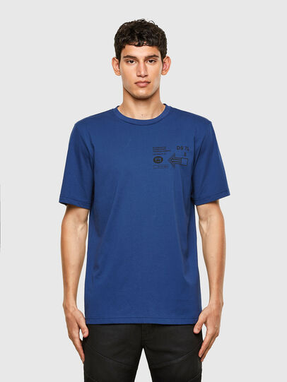 Diesel - T-JUST-A39, Blue - T-Shirts - Image 1