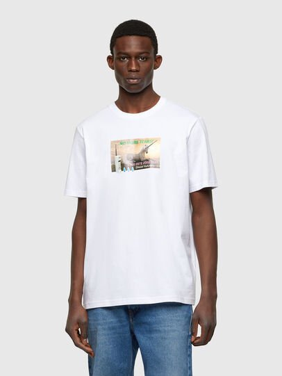 Diesel - T-JUST-A34, White - T-Shirts - Image 1