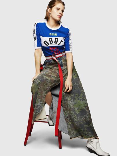 Diesel - DE-SHIRLEY, Medium blue - Skirts - Image 4