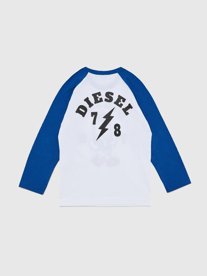 Diesel - TORAB-R, White/Blue - T-shirts and Tops - Image 2