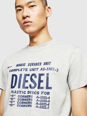T-DIEGO-B6, Light Grey - T-Shirts