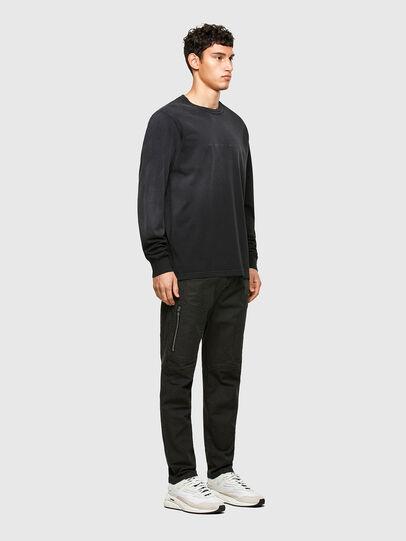Diesel - T-JUBIND-LS, Black - T-Shirts - Image 4