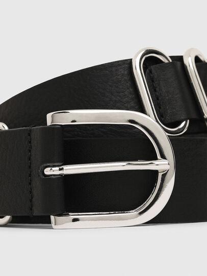 Diesel - B-MERRING, Black - Belts - Image 2
