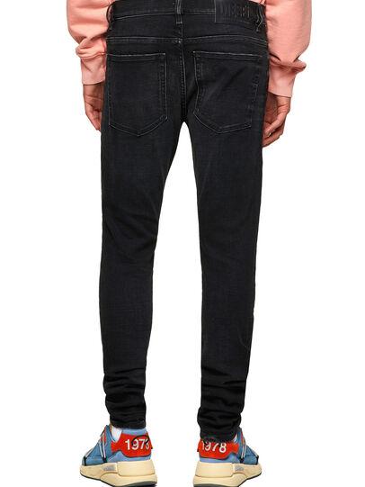 Diesel - D-Amny 09A31, Black/Dark grey - Jeans - Image 2