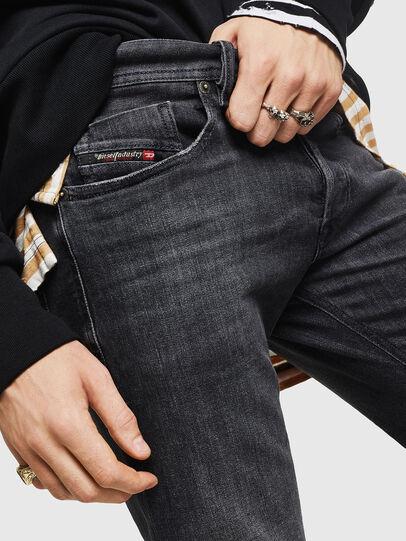 Diesel - Sleenker 084AT, Black/Dark grey - Jeans - Image 3