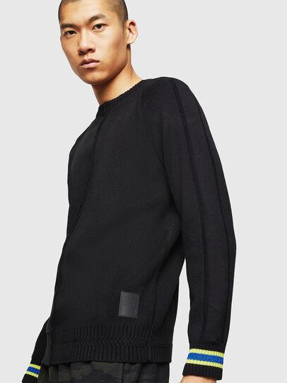 Diesel - K-BOX, Black - Knitwear - Image 5