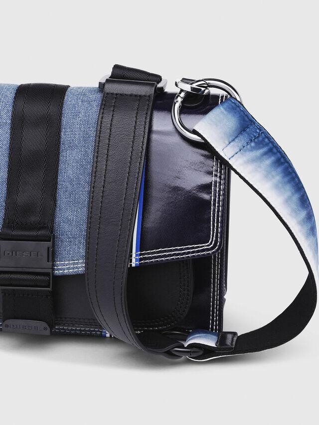 Diesel - MISS-MATCH CROSSBODY, Blue - Crossbody Bags - Image 4