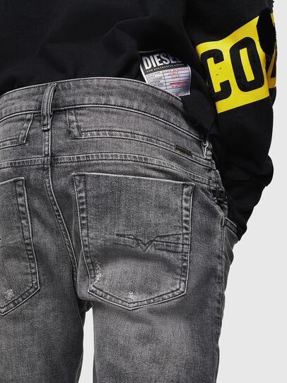 Diesel - D-Bazer 0890F, Light Grey - Jeans - Image 5