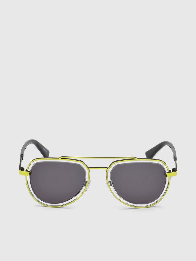 Diesel - DL0266, Yellow - Eyewear - Image 1