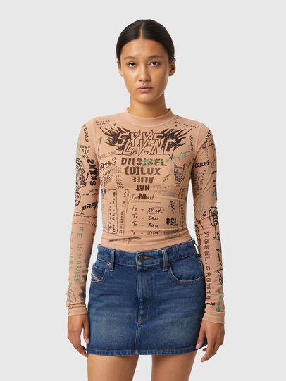 Diesel - T-SIELAY, Face Powder - T-Shirts - Image 1