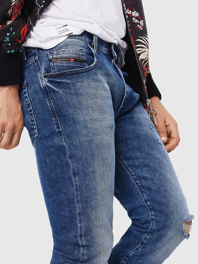 Diesel - D-Strukt 081AQ, Medium blue - Jeans - Image 3
