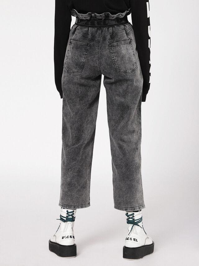 Diesel - Kalley JoggJeans 069AU, Black/Dark grey - Jeans - Image 2
