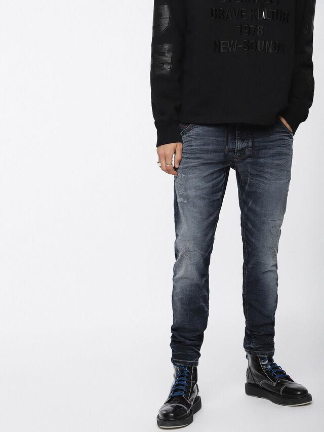 Diesel - Krooley JoggJeans 069BC, Dark Blue - Jeans - Image 1