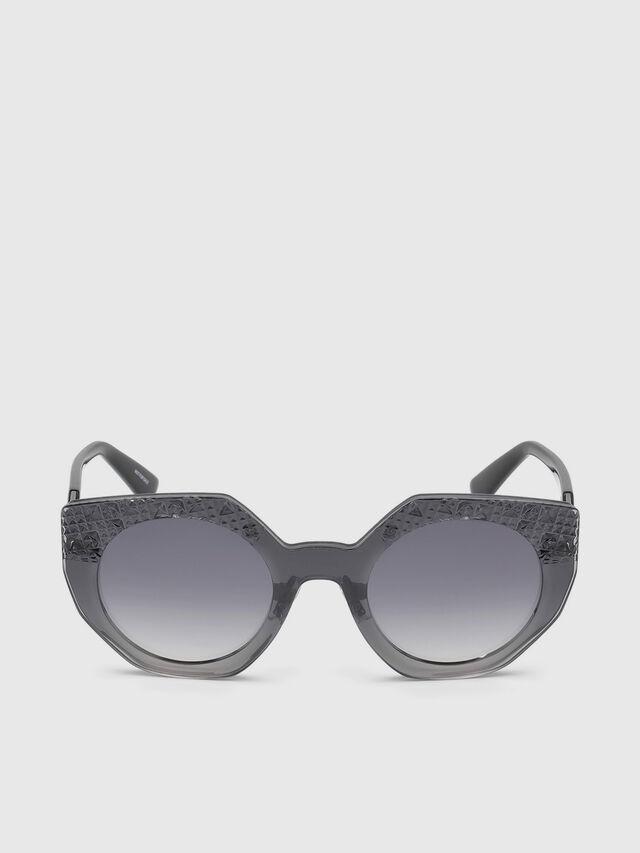 Diesel - DL0258, Grey - Eyewear - Image 1