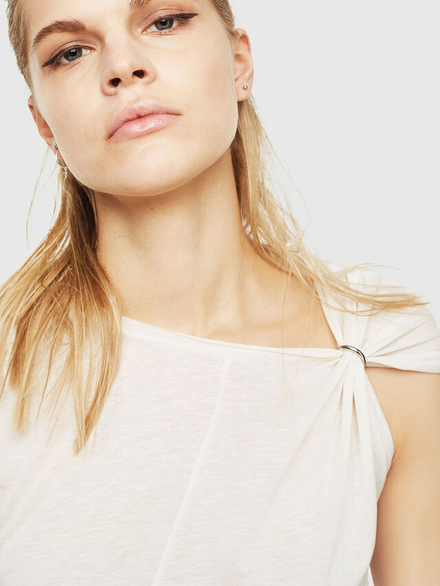 Diesel - T-MILLIE-A, White - Tops - Image 3