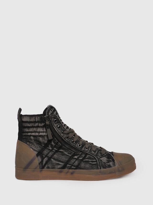 Diesel - D-VELOWS MID GUM, Black Jeans - Sneakers - Image 1