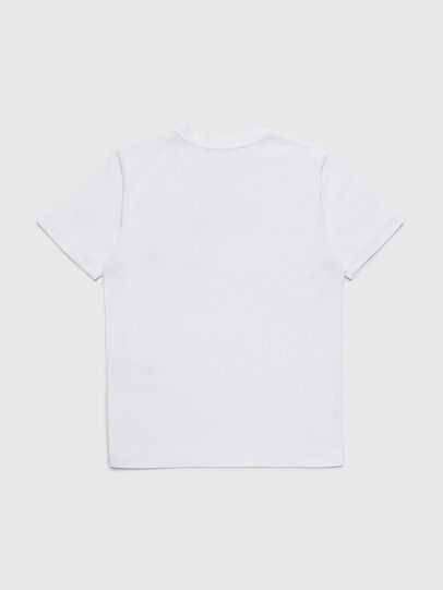 Diesel - TBMOW, White/Red - T-shirts and Tops - Image 2