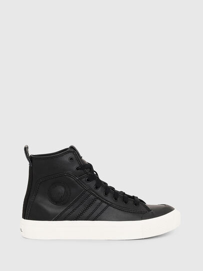 Diesel - S-ASTICO MID LACE W, Black - Sneakers - Image 1