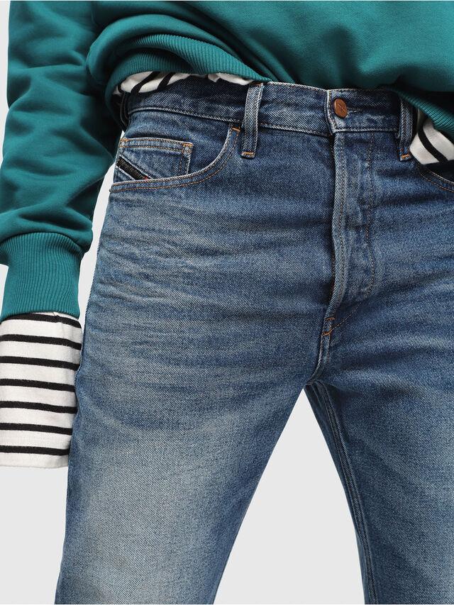 Diesel - D-Aygle 0076Y, Medium blue - Jeans - Image 3