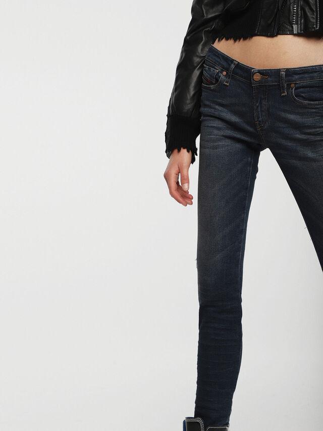 Diesel - Gracey 085AE, Dark Blue - Jeans - Image 3