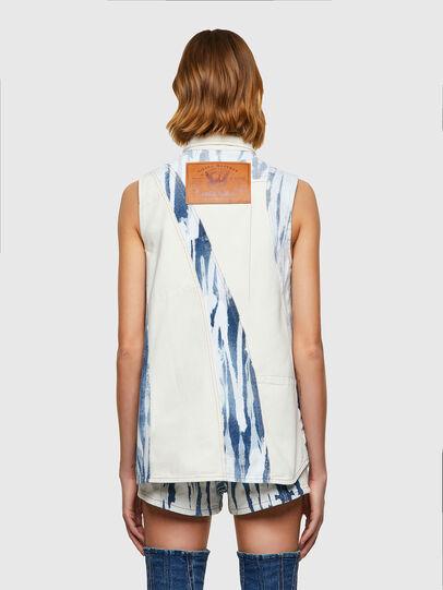 Diesel - DE-RING-SP, White/Blue - Denim Shirts - Image 2