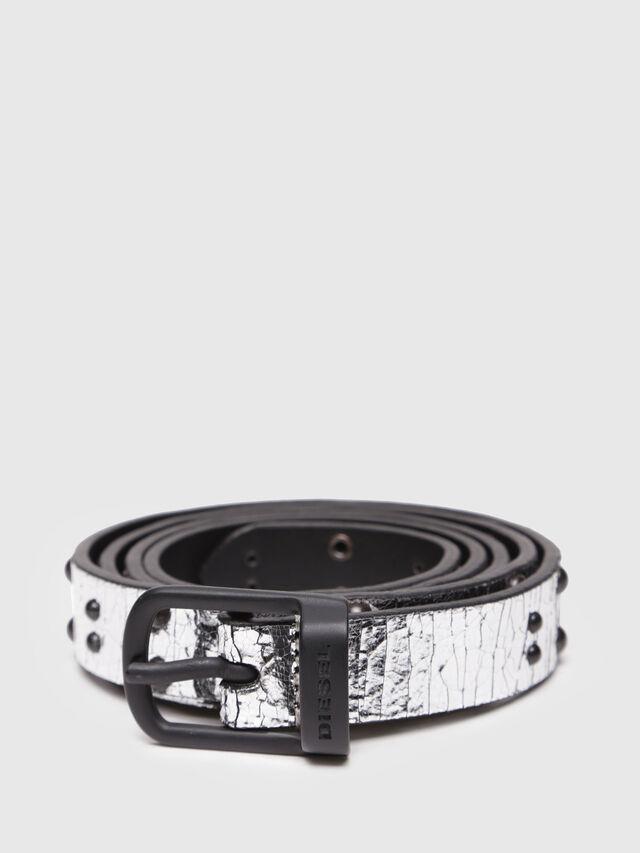 Diesel - B-GABRIELLE, Silver/Black - Belts - Image 1