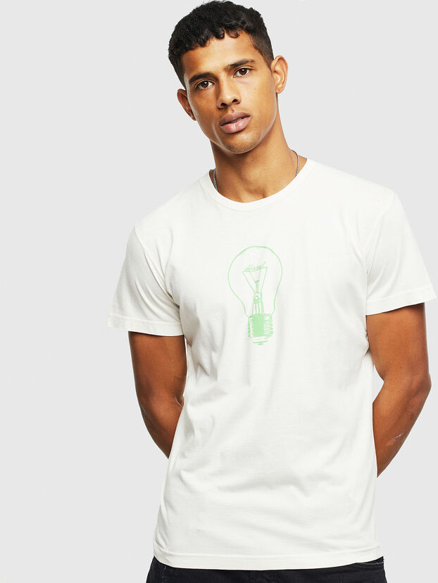 T-DIEGO-S9, White - T-Shirts