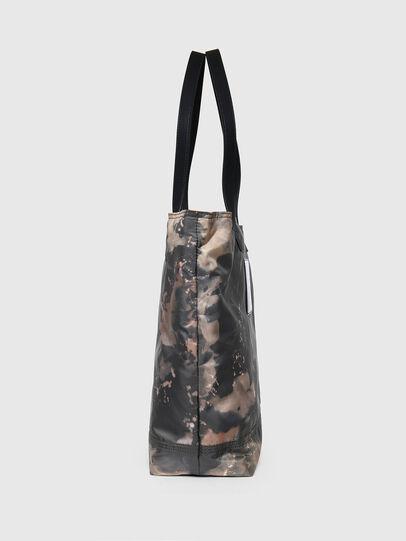 Diesel - VIVYAN, Grey/Orange - Shopping and Shoulder Bags - Image 3